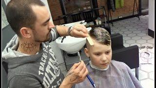 Барбершоп - Моя новая стрижка Chop Chop Barbershop Vlog | Уфа