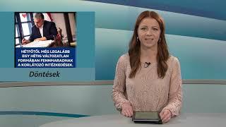 TV Budakalász / Budakalász Ma / 2021.03.19.