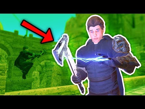 IS THIS THE BEST WEAPON? Blades and Sorcery VR Mods