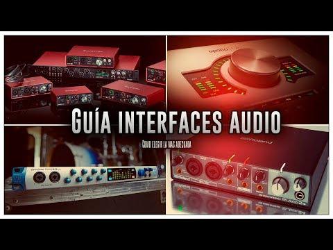 Guía interfaces de sonido || ¿Que tarjeta comprar? || ¿Como elegir la más adecuada? ||