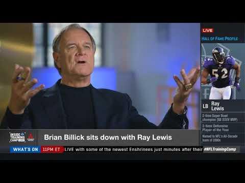 Brian Billick 1-0n-1 with Ray Lewis HOF