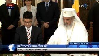 Explicaţii şi Reacţii După Protocolul încheiat între Ministerul Educaţiei şi Patriarhia Română