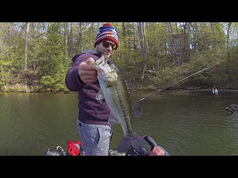 Crazy Fun Pre-Spawn Bass Fishing!!! (The Numbers Game)