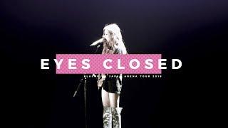 180816 BLACKPINK ROSÉ 로제 Japan Arena Tour Fukuoka (Day1) 직캠 - Eyes Closed