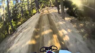 Climbing Widowmaker Hill in Oregon Dunes