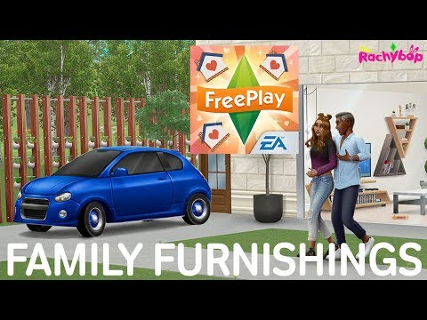 The Sims Freeplay Family Furnishings Update July 2019