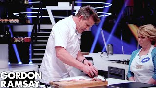 Gordon Ramsay Demonstrates Key Cooking Skills