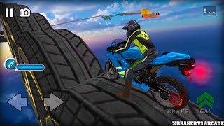 Impossible Bike Stunts 3D New Bike Unlocked Android GamePlay 2017
