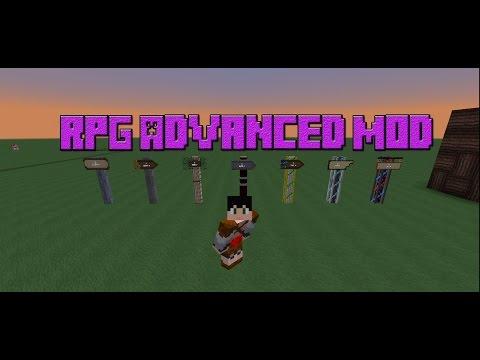 RPG Advanced Mod 1 7 10/gameplay español/minecraft mods review  en español