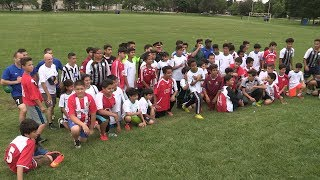 Second Kicks supports Toronto Police Services and local youth