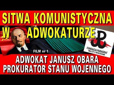 Brat Lecha Obary, Janusz Obara i ich tajemnice - Sitwa komuchów w adwokaturze, cz. 1