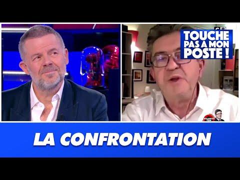 Jean-Luc Mélenchon s'exprime avec Eric Naulleau dans TPMP