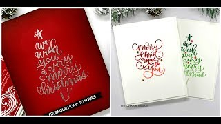 Gina K Designs  | Ink Pad Techniques | Clean & Simple Cards