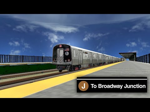 OpenBVE Preview ᴴᴰ ⁶⁰ᶠᵖˢ - R179 J Train Cab Ride to Broadway