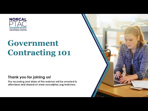 Government Contracting 101 | Webinar - YouTube