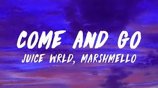 Juice WRLD ft. Marshmello - Come & Go (Lyrics)