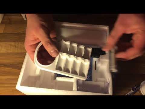 Oral-B Genius 9900 Elektrische Zahnbürste mit 4 Aufsteckbürsten 2 Handstücken unboxing und Anleitung