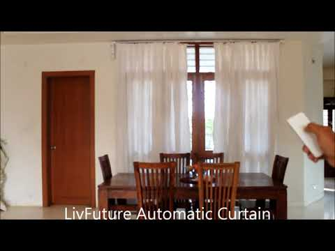 Electronic Sliding Curtain