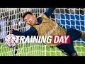 TRAINING DAY | Champions League in rainy Italy & Licha on goal