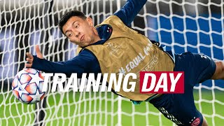TRAINING DAY | Champions League in rainy Italy & Licha on goal