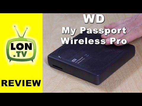 WD My Passport Wireless Pro Hard Drive & Plex Server Review (2TB / 3TB)