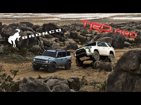 Here's How The Toyota 4Runner TRD Pro Stacks Up To The Ford Bronco