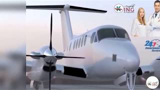 Go with the King air ambulance from Ranchi to Delhi fast
