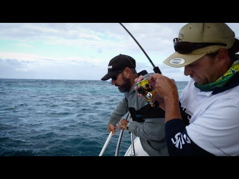 Shannon Edwards takes Perth Fishing TV Inshore Dhufish & Snapper Fishing