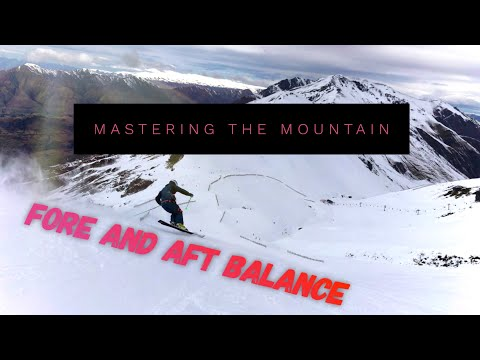 Mastering the mountain - Fore and aft balance for skiing (Preview)