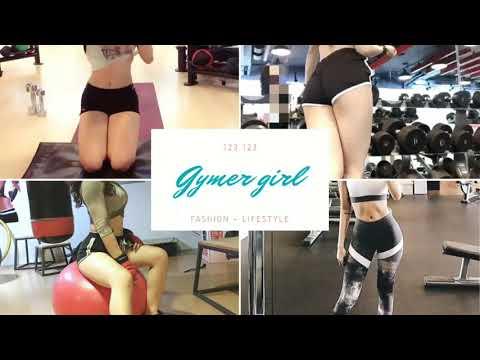 Clip sextile gái Thái tập Gym soi MU