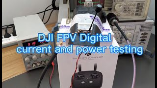 DJI FPV digital system current power test