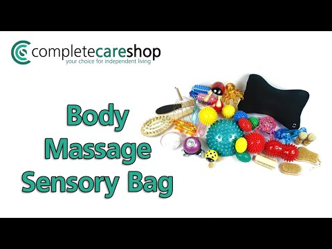 Childrens Body Massage Sensory Pack - Wide Variety Sensations