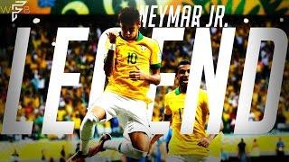 Neymar Jr. - Brazil Legend 2 - Amazing Moments! Dribbling/Skills/Goals/Passing! | 4K