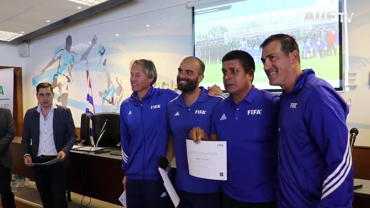 Se realizó en AUF curso FIFA para Entrenadores de Arqueros