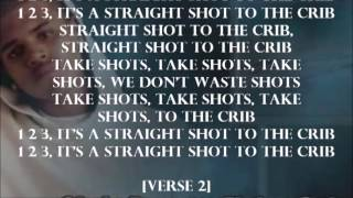Chris Brown - Str8 Shot Lyrics Video