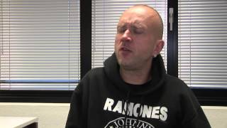 Volbeat interview - Jon (part 1)