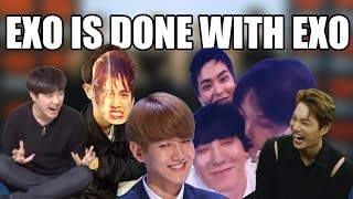 Download Video EXO annoying each other for 5 minutes straight a.k.a. I need a comeback MP3 3GP MP4