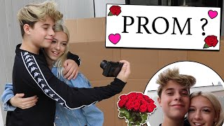 Asking My Girlfriend To PROM **EMOTIONAL REACTION** | Gavin Magnus ft. Coco Quinn
