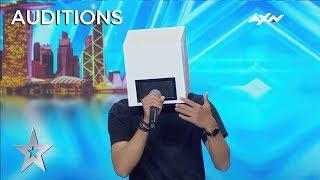 A Singing Box!? Whaattt?   Asia's Got Talent 2019 On AXN Asia