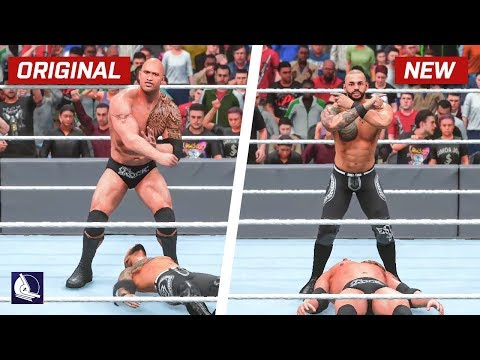 WWE 2K19 Top 10 New Moves Variations (Animations) #9