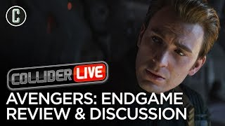 Avengers: Endgame Review & Discussion - Collider Live #120