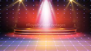 Title and stage background   stage background video effects   stage light overlay   stage light effect