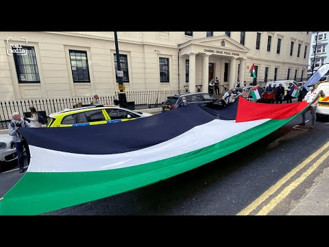 Palestine Action activist charged with 'conspiracy to blackmail'