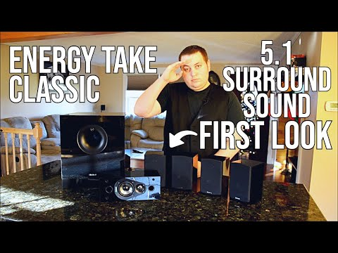 Energy Take Classic 5.1 Home Theater System First Look/Review