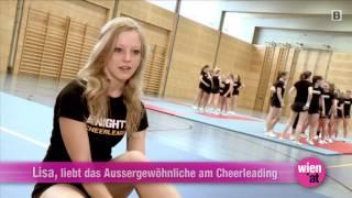preview picture of video 'Vienna Knights Cheerleader: Mehr als nur ein Sport'