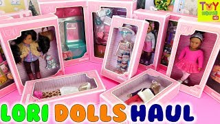 Lori Dolls Haul (Doll Clothes, Room Furniture, Accessories)