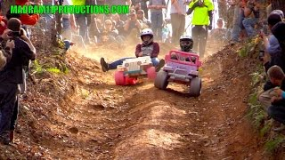 EXTREME BARBIE JEEP RACING 2014 AT RBD