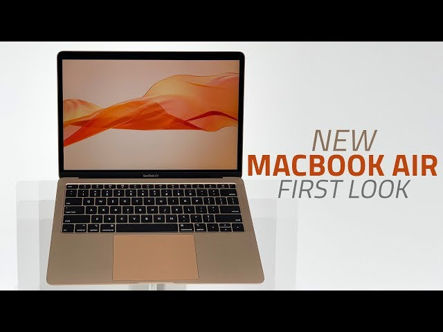 MacBook Air 2018 Has a Bunch of Modular Components, Ingress