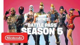 Fortnite Battle Pass Season 5 | Trailer