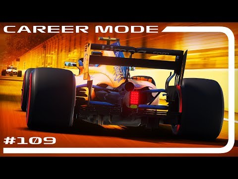 F1 2018 CAREER MODE #108 | THIS IS BAD... | Azerbaijan GP (110% AI)